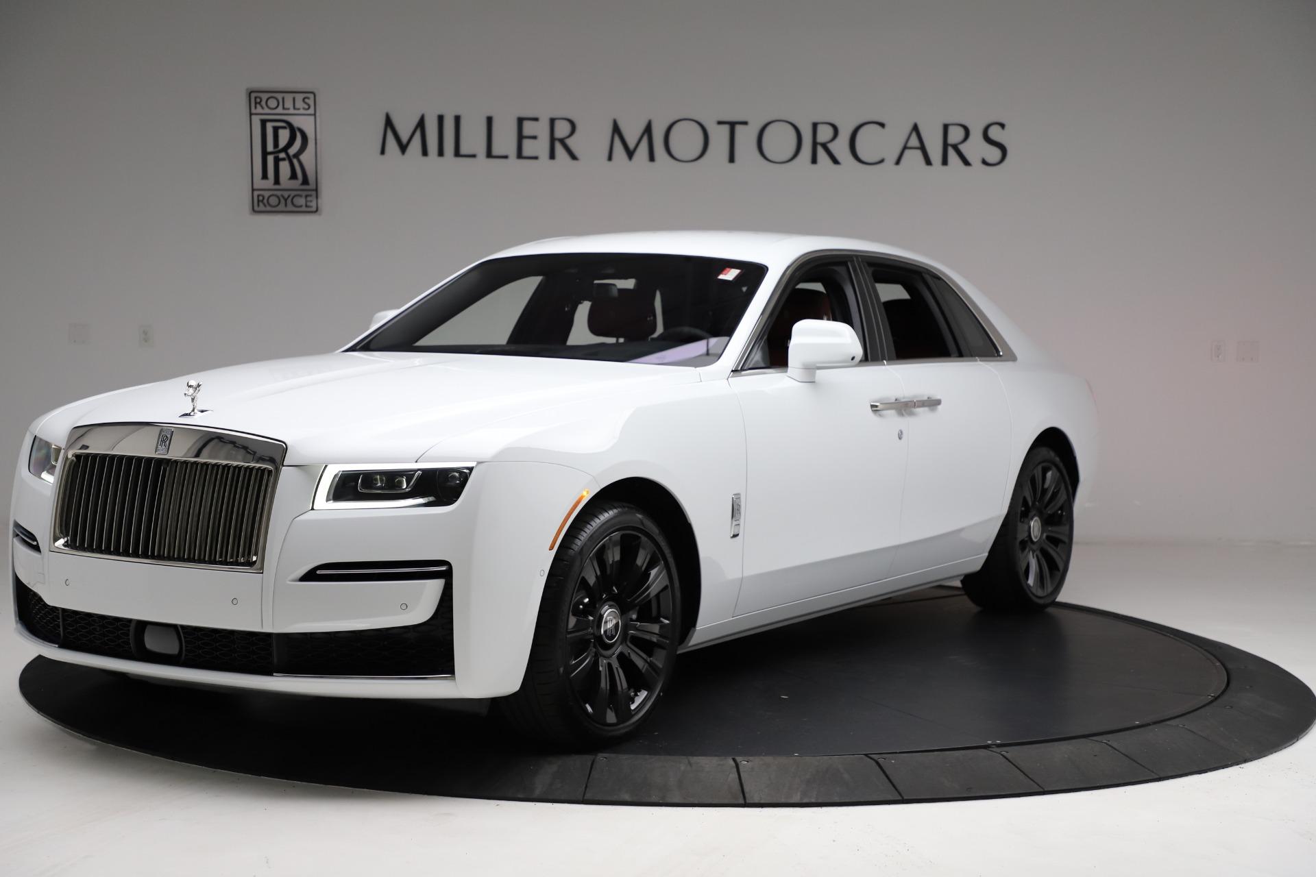New 2021 Rolls-Royce Ghost for sale $390,400 at Alfa Romeo of Westport in Westport CT 06880 1