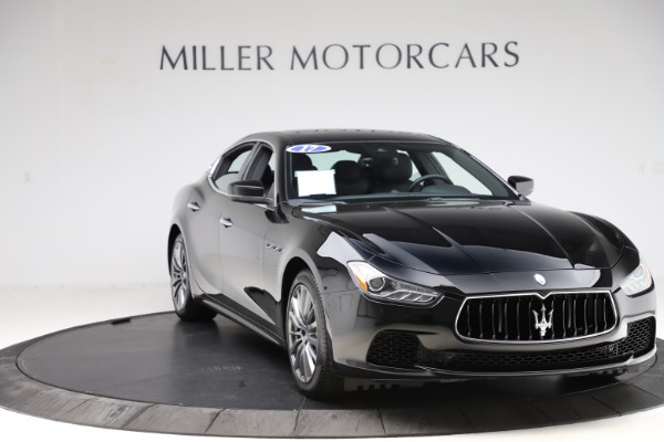 Used 2017 Maserati Ghibli S Q4 for sale $44,900 at Alfa Romeo of Westport in Westport CT 06880 11