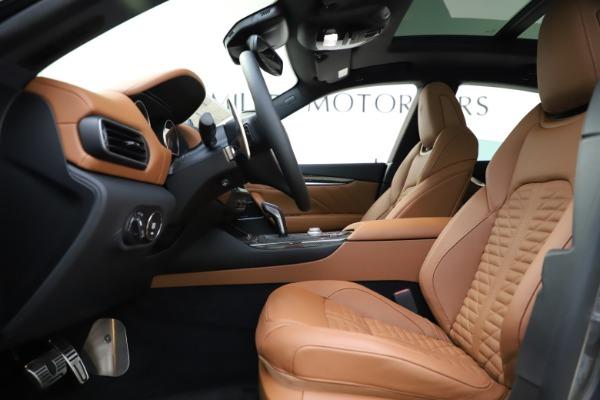 New 2021 Maserati Levante S Q4 GranSport for sale $108,235 at Alfa Romeo of Westport in Westport CT 06880 14