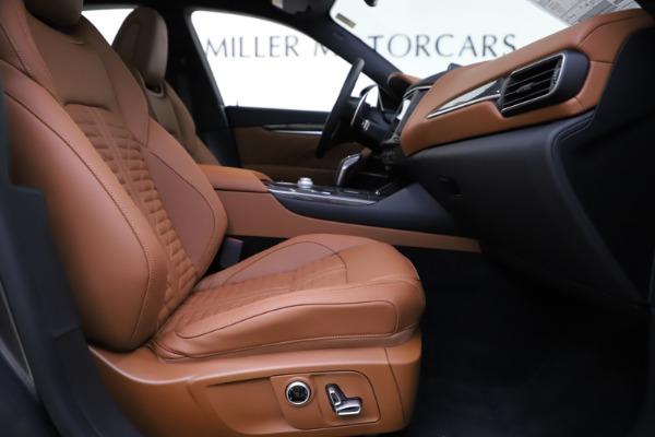 New 2021 Maserati Levante S Q4 GranSport for sale $108,235 at Alfa Romeo of Westport in Westport CT 06880 22