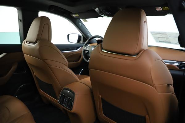 New 2021 Maserati Levante S Q4 GranSport for sale $108,235 at Alfa Romeo of Westport in Westport CT 06880 26
