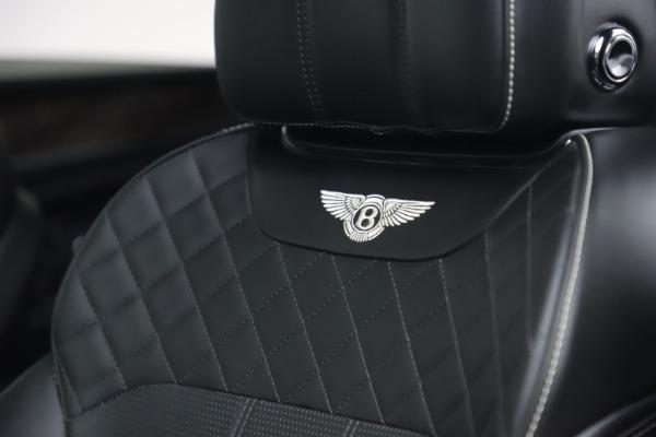 Used 2018 Bentley Bentayga W12 Signature for sale $154,900 at Alfa Romeo of Westport in Westport CT 06880 21