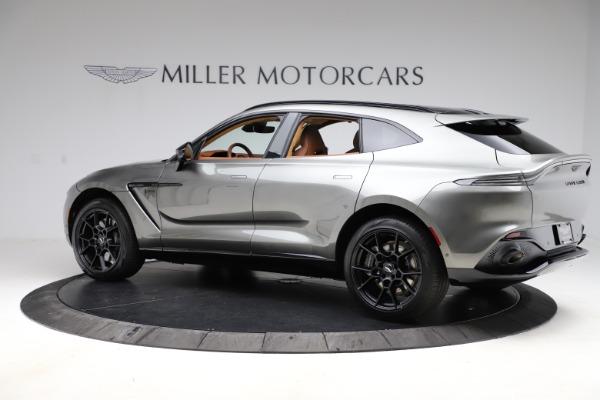 New 2021 Aston Martin DBX for sale $226,136 at Alfa Romeo of Westport in Westport CT 06880 3