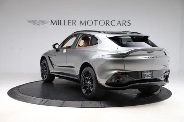 New 2021 Aston Martin DBX for sale $226,136 at Alfa Romeo of Westport in Westport CT 06880 4