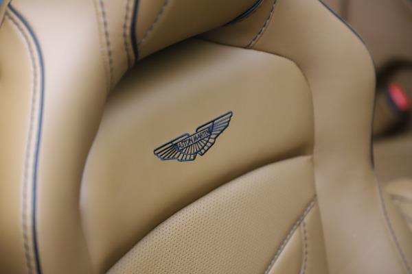 New 2021 Aston Martin DBS Superleggera Volante Convertible for sale $402,786 at Alfa Romeo of Westport in Westport CT 06880 24