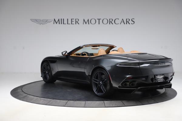 New 2021 Aston Martin DBS Superleggera Volante Convertible for sale $402,786 at Alfa Romeo of Westport in Westport CT 06880 4