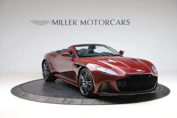 New 2021 Aston Martin DBS Superleggera Volante Convertible for sale $362,486 at Alfa Romeo of Westport in Westport CT 06880 10