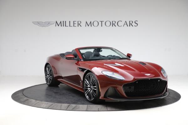 New 2021 Aston Martin DBS Superleggera Volante for sale $362,486 at Alfa Romeo of Westport in Westport CT 06880 10