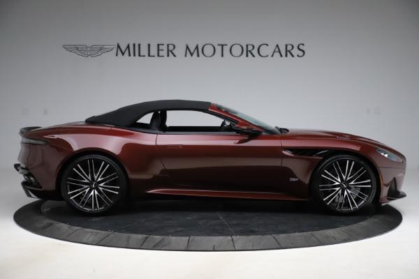 New 2021 Aston Martin DBS Superleggera Volante for sale $362,486 at Alfa Romeo of Westport in Westport CT 06880 12