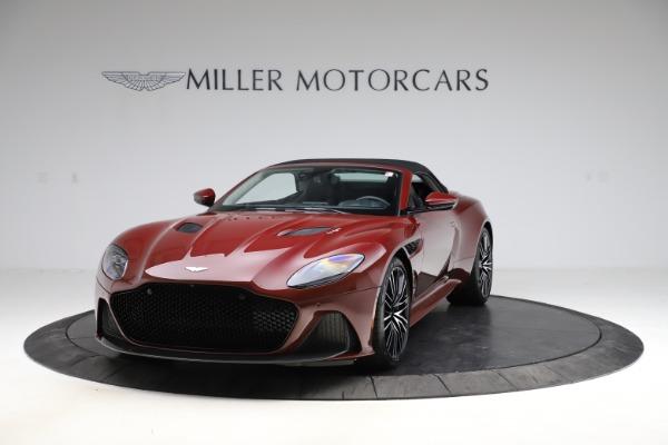 New 2021 Aston Martin DBS Superleggera Volante Convertible for sale $362,486 at Alfa Romeo of Westport in Westport CT 06880 16