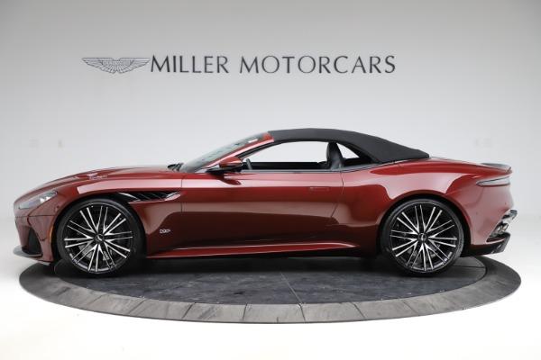 New 2021 Aston Martin DBS Superleggera Volante Convertible for sale $362,486 at Alfa Romeo of Westport in Westport CT 06880 17