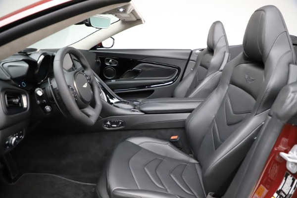 New 2021 Aston Martin DBS Superleggera Volante Convertible for sale $362,486 at Alfa Romeo of Westport in Westport CT 06880 18