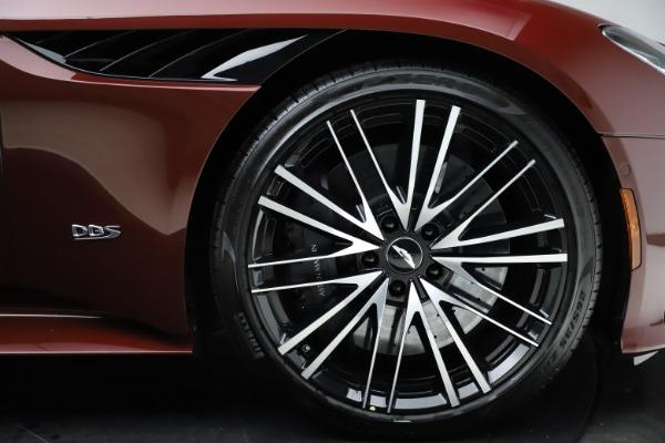New 2021 Aston Martin DBS Superleggera Volante Convertible for sale $362,486 at Alfa Romeo of Westport in Westport CT 06880 24