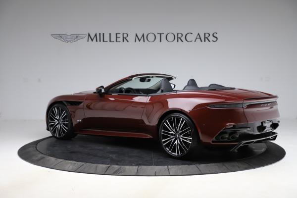 New 2021 Aston Martin DBS Superleggera Volante for sale $362,486 at Alfa Romeo of Westport in Westport CT 06880 3