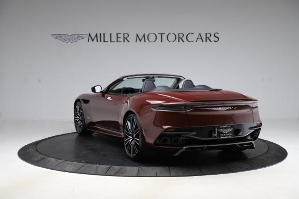 New 2021 Aston Martin DBS Superleggera Volante Convertible for sale $362,486 at Alfa Romeo of Westport in Westport CT 06880 4