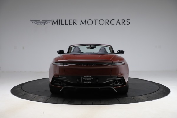 New 2021 Aston Martin DBS Superleggera Volante Convertible for sale $362,486 at Alfa Romeo of Westport in Westport CT 06880 5
