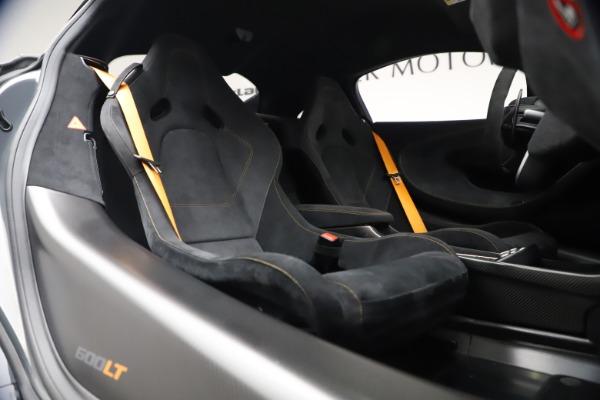 Used 2019 McLaren 600LT Coupe for sale $229,900 at Alfa Romeo of Westport in Westport CT 06880 19