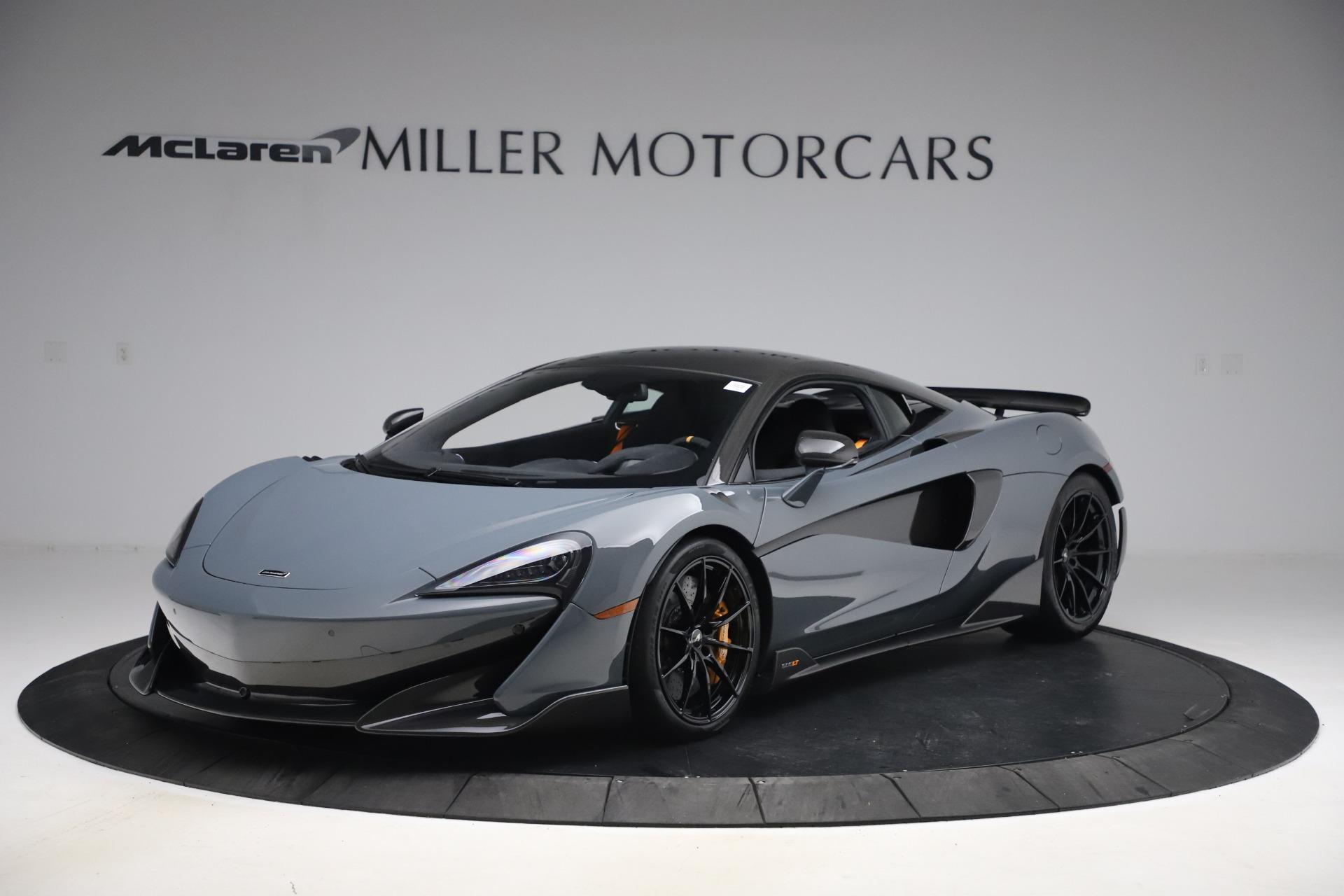 Used 2019 McLaren 600LT Coupe for sale $229,900 at Alfa Romeo of Westport in Westport CT 06880 1
