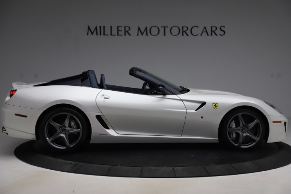 Used 2011 Ferrari 599 SA Aperta for sale $1,379,000 at Alfa Romeo of Westport in Westport CT 06880 9