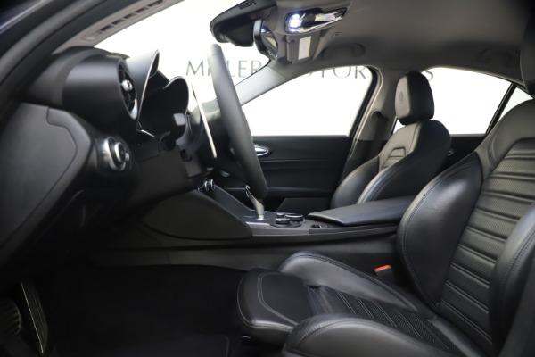 Used 2017 Alfa Romeo Giulia Ti Sport for sale $26,900 at Alfa Romeo of Westport in Westport CT 06880 17