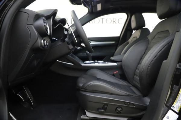 New 2020 Alfa Romeo Stelvio Ti Sport Q4 for sale Sold at Alfa Romeo of Westport in Westport CT 06880 14