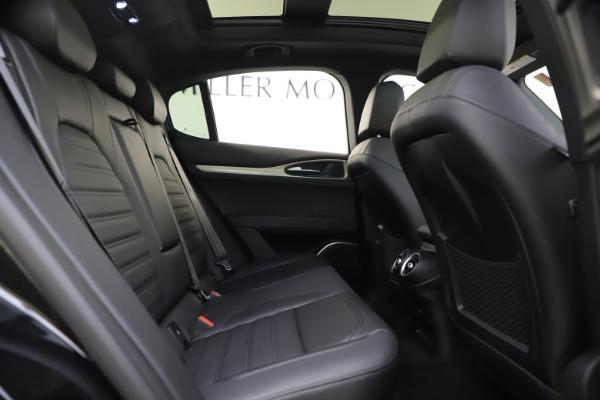 New 2020 Alfa Romeo Stelvio Ti Sport Q4 for sale Sold at Alfa Romeo of Westport in Westport CT 06880 25