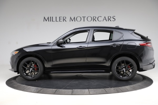 New 2020 Alfa Romeo Stelvio Ti Sport Q4 for sale $51,795 at Alfa Romeo of Westport in Westport CT 06880 3