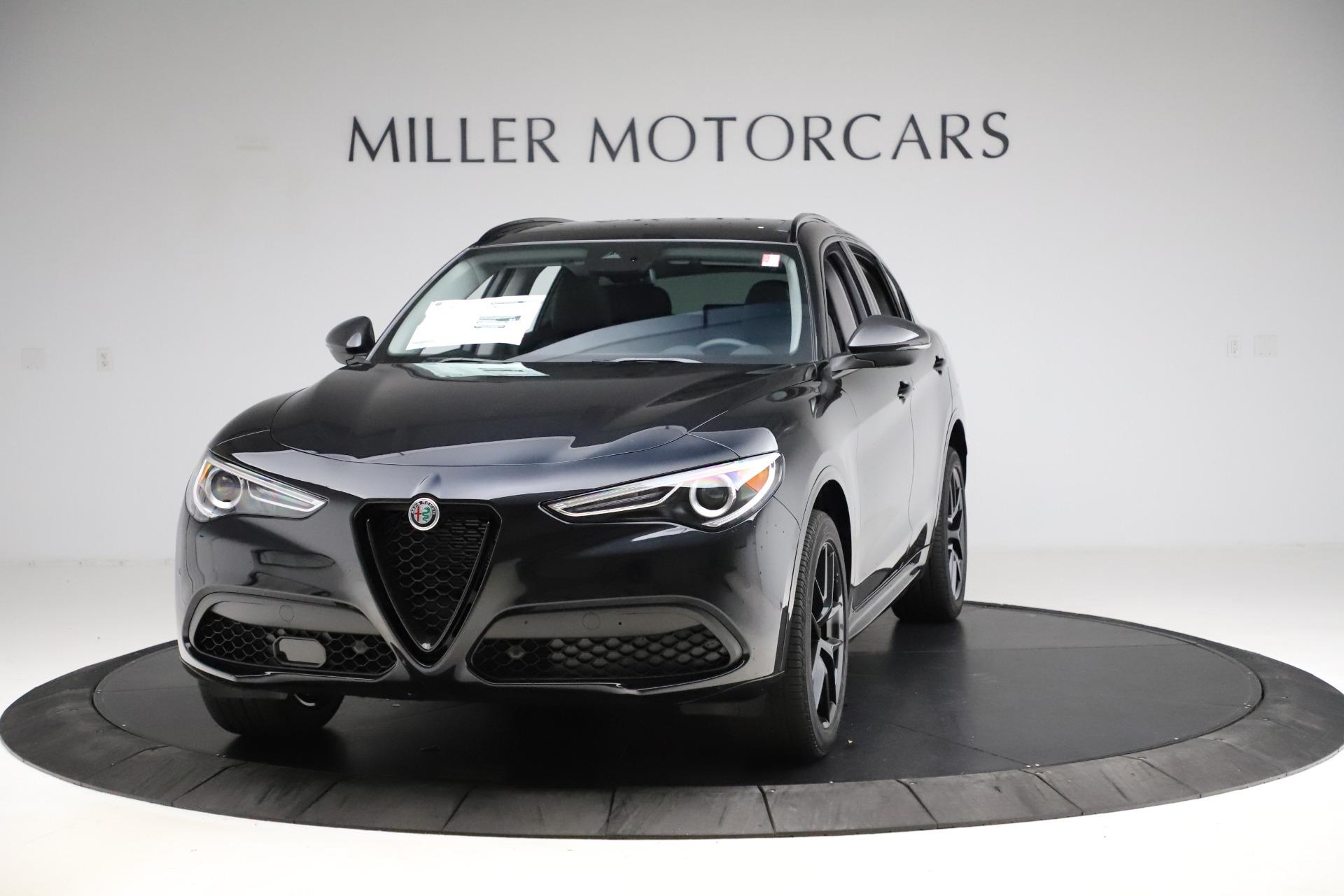 New 2020 Alfa Romeo Stelvio Ti Sport Q4 for sale $51,795 at Alfa Romeo of Westport in Westport CT 06880 1
