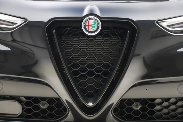 New 2020 Alfa Romeo Stelvio Ti Sport Q4 for sale $49,945 at Alfa Romeo of Westport in Westport CT 06880 13