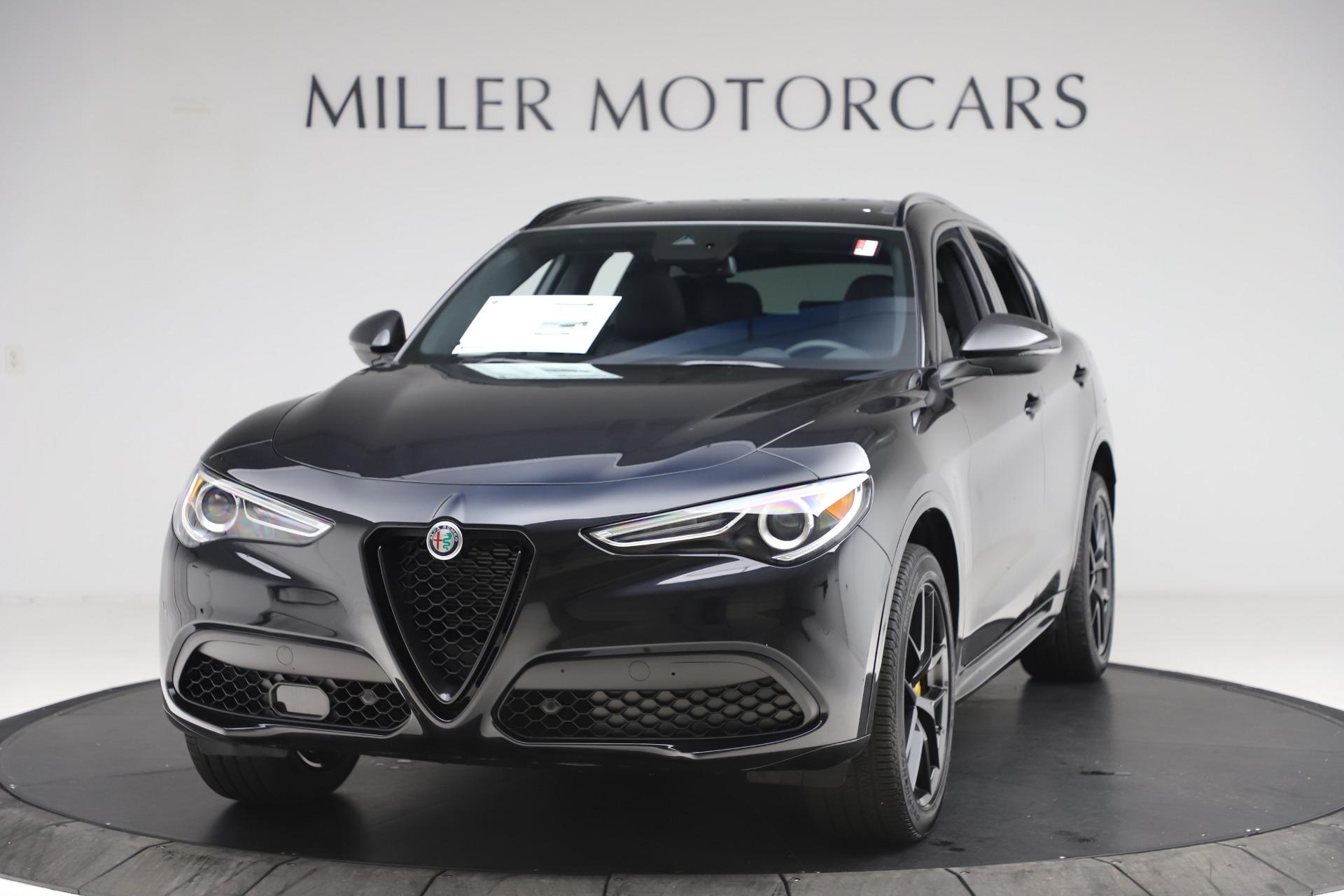 New 2020 Alfa Romeo Stelvio Ti Sport Q4 for sale $49,945 at Alfa Romeo of Westport in Westport CT 06880 1