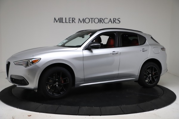 New 2021 Alfa Romeo Stelvio Ti Sport Q4 for sale Call for price at Alfa Romeo of Westport in Westport CT 06880 2