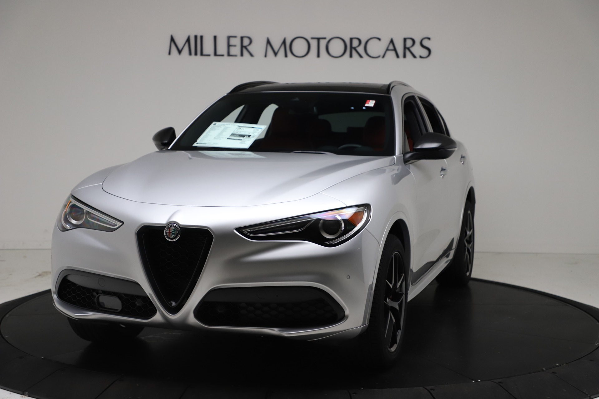 New 2021 Alfa Romeo Stelvio Ti Sport Q4 for sale Call for price at Alfa Romeo of Westport in Westport CT 06880 1