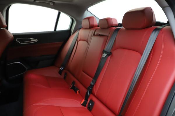 New 2021 Alfa Romeo Giulia Q4 for sale $48,035 at Alfa Romeo of Westport in Westport CT 06880 19