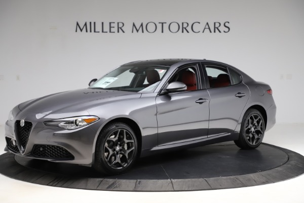 New 2021 Alfa Romeo Giulia Q4 for sale $48,035 at Alfa Romeo of Westport in Westport CT 06880 2