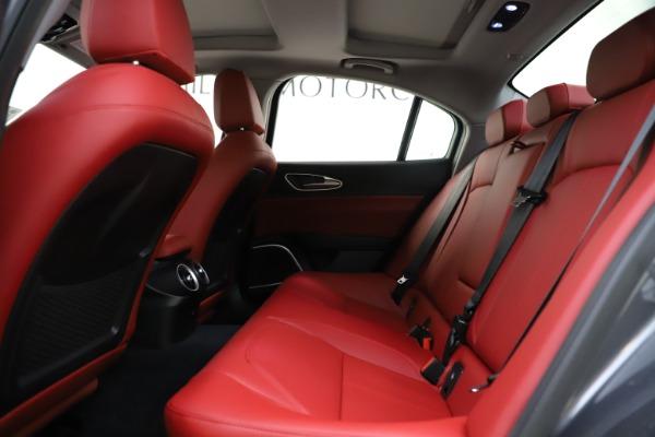 New 2021 Alfa Romeo Giulia Q4 for sale $48,035 at Alfa Romeo of Westport in Westport CT 06880 20