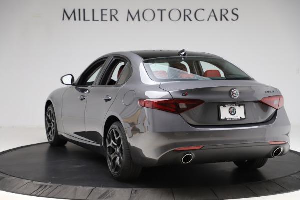 New 2021 Alfa Romeo Giulia Q4 for sale $48,035 at Alfa Romeo of Westport in Westport CT 06880 5