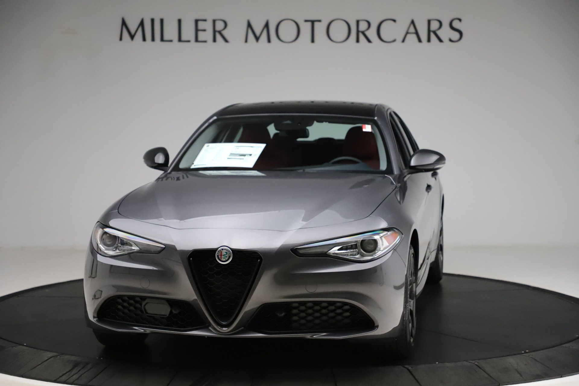 New 2021 Alfa Romeo Giulia Q4 for sale $48,035 at Alfa Romeo of Westport in Westport CT 06880 1