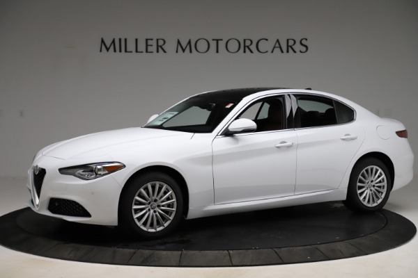 New 2021 Alfa Romeo Giulia Q4 for sale $45,735 at Alfa Romeo of Westport in Westport CT 06880 2