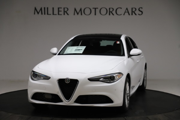 New 2021 Alfa Romeo Giulia Q4 for sale $45,735 at Alfa Romeo of Westport in Westport CT 06880 1