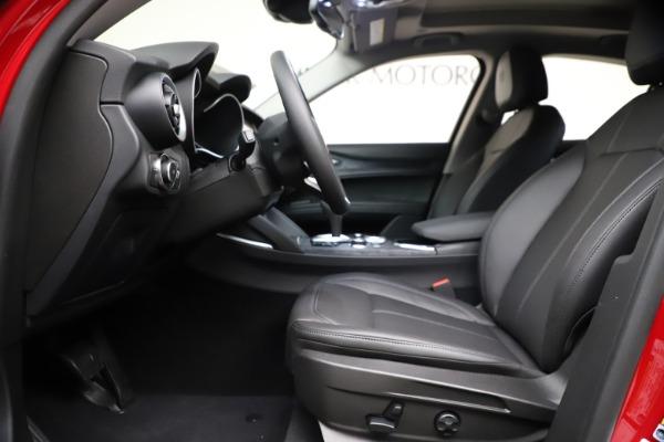 New 2021 Alfa Romeo Stelvio Q4 for sale $47,735 at Alfa Romeo of Westport in Westport CT 06880 14