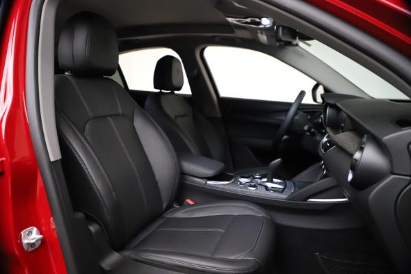 New 2021 Alfa Romeo Stelvio Q4 for sale $47,735 at Alfa Romeo of Westport in Westport CT 06880 21