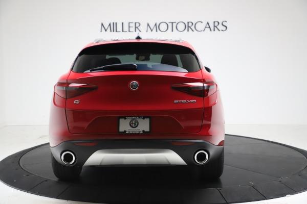 New 2021 Alfa Romeo Stelvio Q4 for sale $47,735 at Alfa Romeo of Westport in Westport CT 06880 6