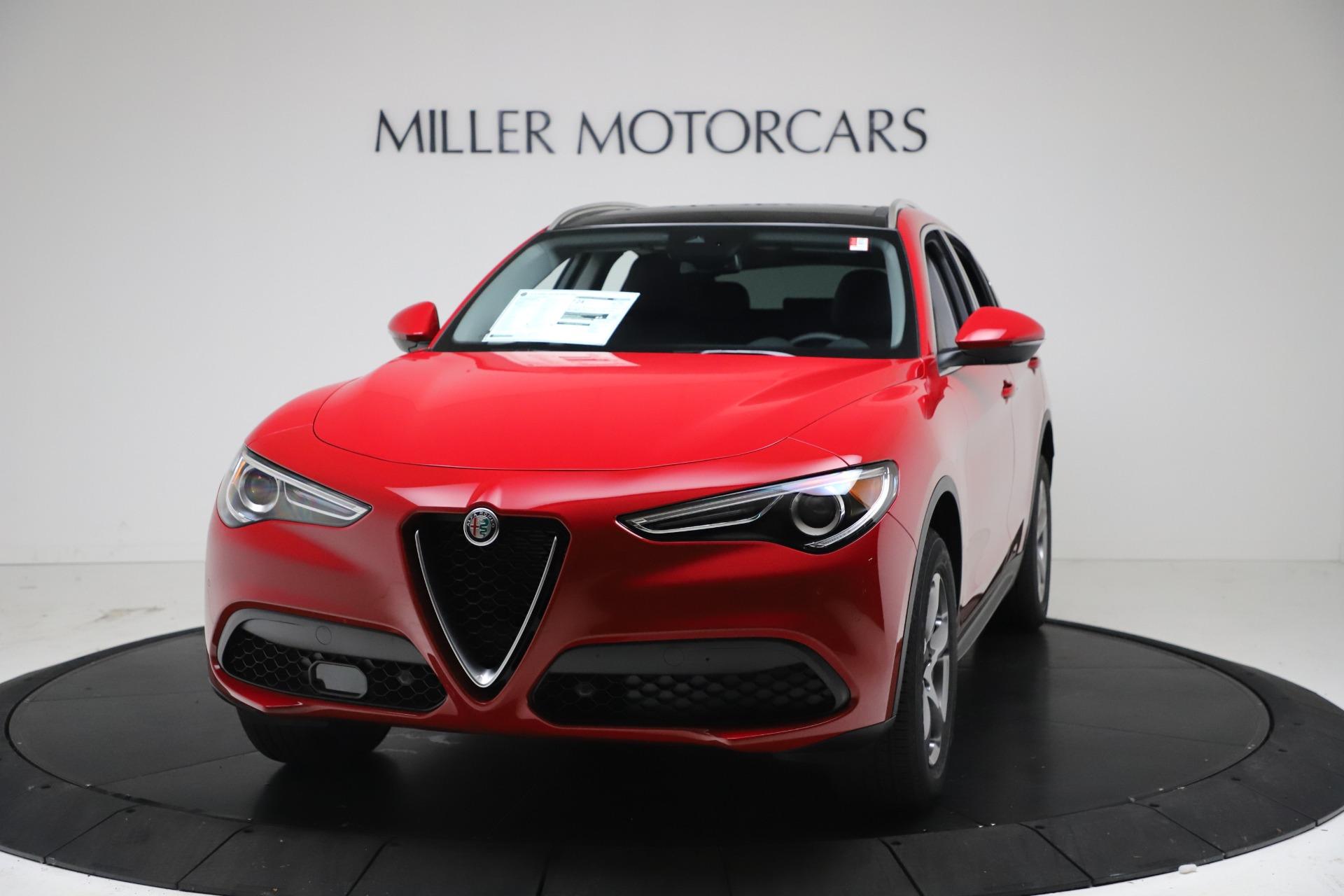 New 2021 Alfa Romeo Stelvio Q4 for sale $47,735 at Alfa Romeo of Westport in Westport CT 06880 1