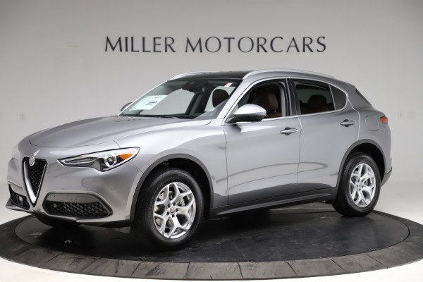 New 2021 Alfa Romeo Stelvio Q4 for sale $48,835 at Alfa Romeo of Westport in Westport CT 06880 2