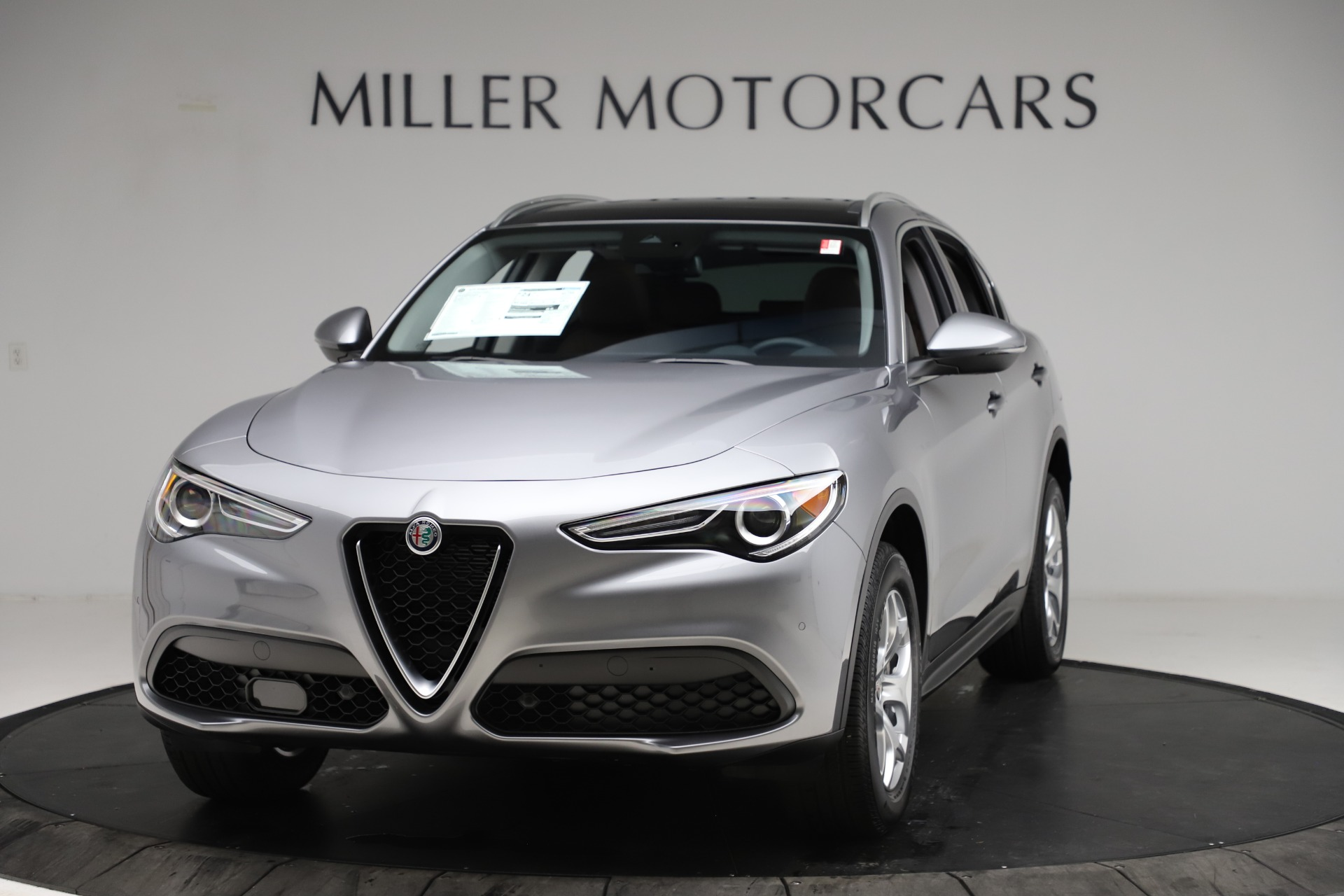 New 2021 Alfa Romeo Stelvio Q4 for sale $48,835 at Alfa Romeo of Westport in Westport CT 06880 1