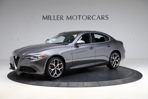 New 2021 Alfa Romeo Giulia Ti Q4 for sale $52,540 at Alfa Romeo of Westport in Westport CT 06880 2