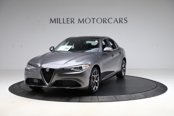 New 2021 Alfa Romeo Giulia Ti Q4 for sale $52,540 at Alfa Romeo of Westport in Westport CT 06880 1
