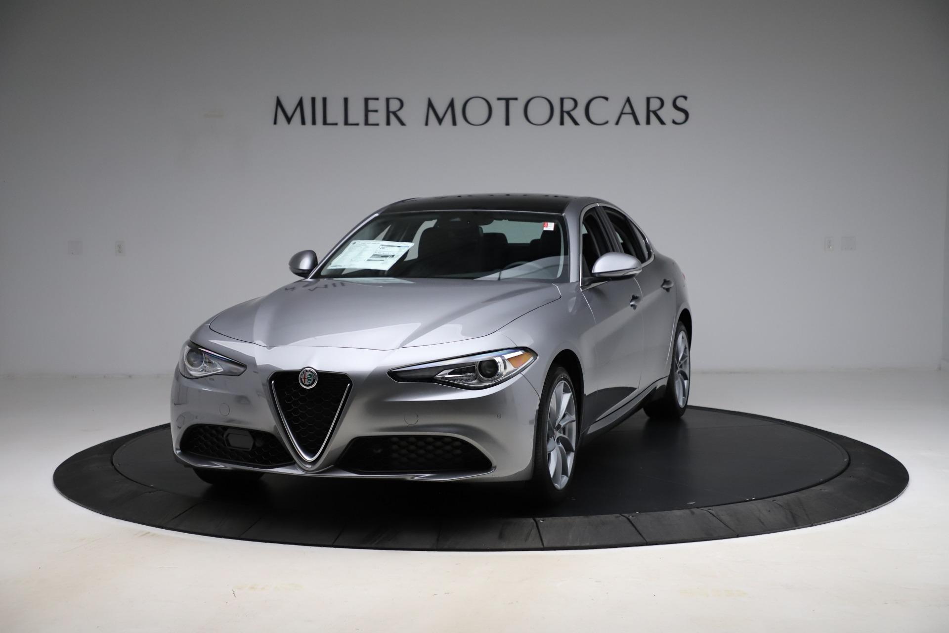 New 2021 Alfa Romeo Giulia Q4 for sale $47,085 at Alfa Romeo of Westport in Westport CT 06880 1
