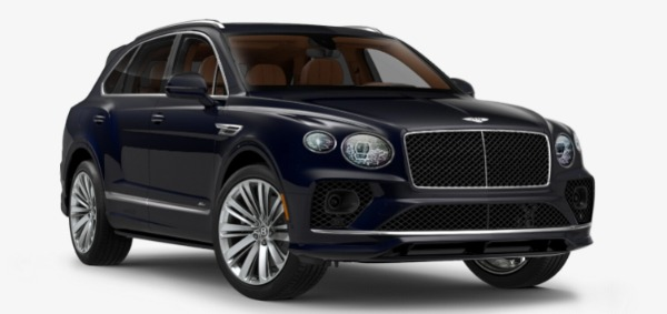 New 2021 Bentley Bentayga Speed Edition for sale $272,895 at Alfa Romeo of Westport in Westport CT 06880 1