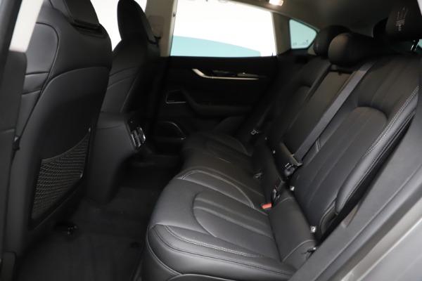 New 2021 Maserati Levante Q4 GranSport for sale $93,585 at Alfa Romeo of Westport in Westport CT 06880 19